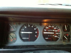 Speedometer, tachometer and fuel gauge  Jeep Cherokee Forum
