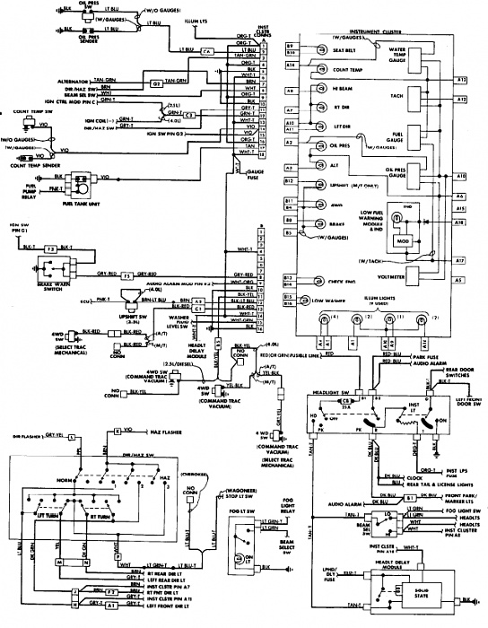 1999 jeep wrangler wiring diagram 1999 image 1988 jeep wrangler wiring schematics jodebal com on 1999 jeep wrangler wiring diagram