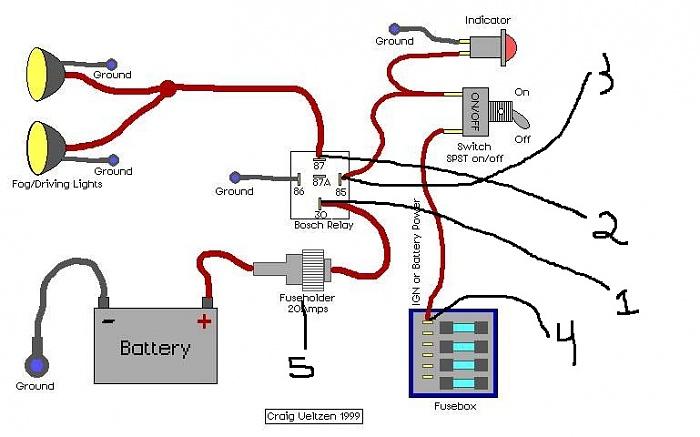 Kc Hilites Relay Diagram Diagram – Kc Light Wiring Diagram