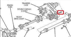 Front Driveshaft replacement bolt where to buy?  Jeep