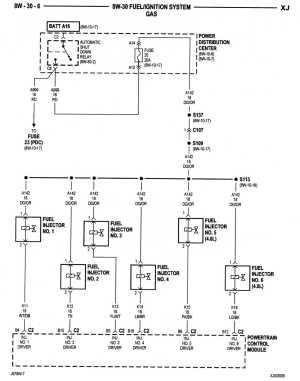 [WRG6251] 2004 Jeep Wrangler Ecm Wiring