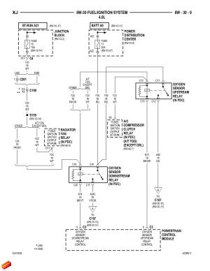 '01 Cherokee o2 sensorengine wiring diagram?  Jeep