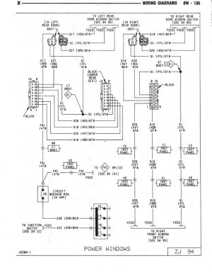 window switch  wiring diagram or info  Jeep Cherokee Forum