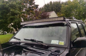 Jeep Cherokee Forum >> Jeep Xj Led Light Bar Mount Lamps And Lighting By Iadpnet