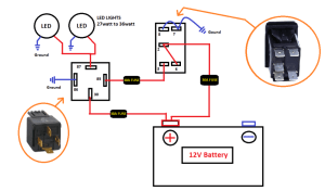 New LED Rocker switch help!  Jeep Cherokee Forum