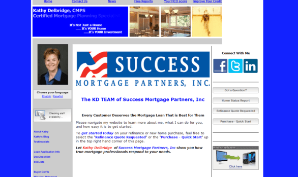 Success Mortgage, Kathy Delbridge