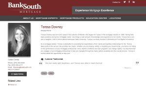 BankSouth Mortgage, Teresa Downey