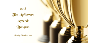 2018 Top Achievers Awards Banquet