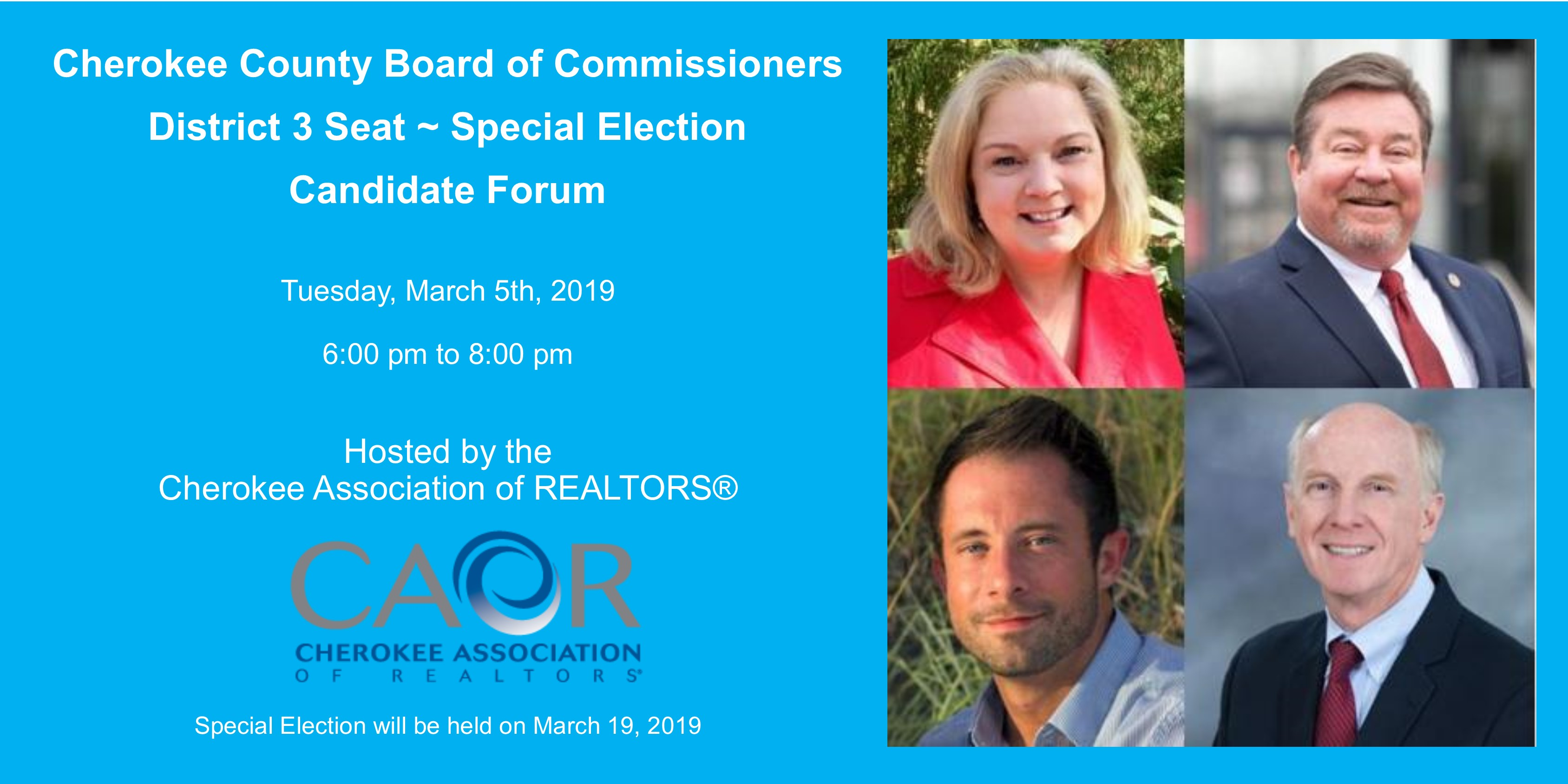 Cherokee County Commissioner Candidate Forum