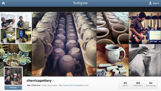 Instagram Photo, Joel Cherrico Pottery, Rock Music