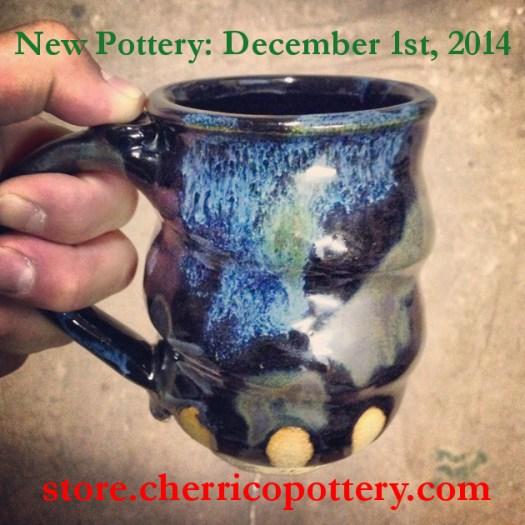 Image 3, Handmade Ceramic Pottery, mug, Cherrico Pottery, Online Christmas Sale, 2014