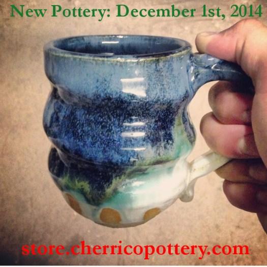 Image 4, Handmade Ceramic Pottery, mug, Cherrico Pottery, Online Christmas Sale, 2014