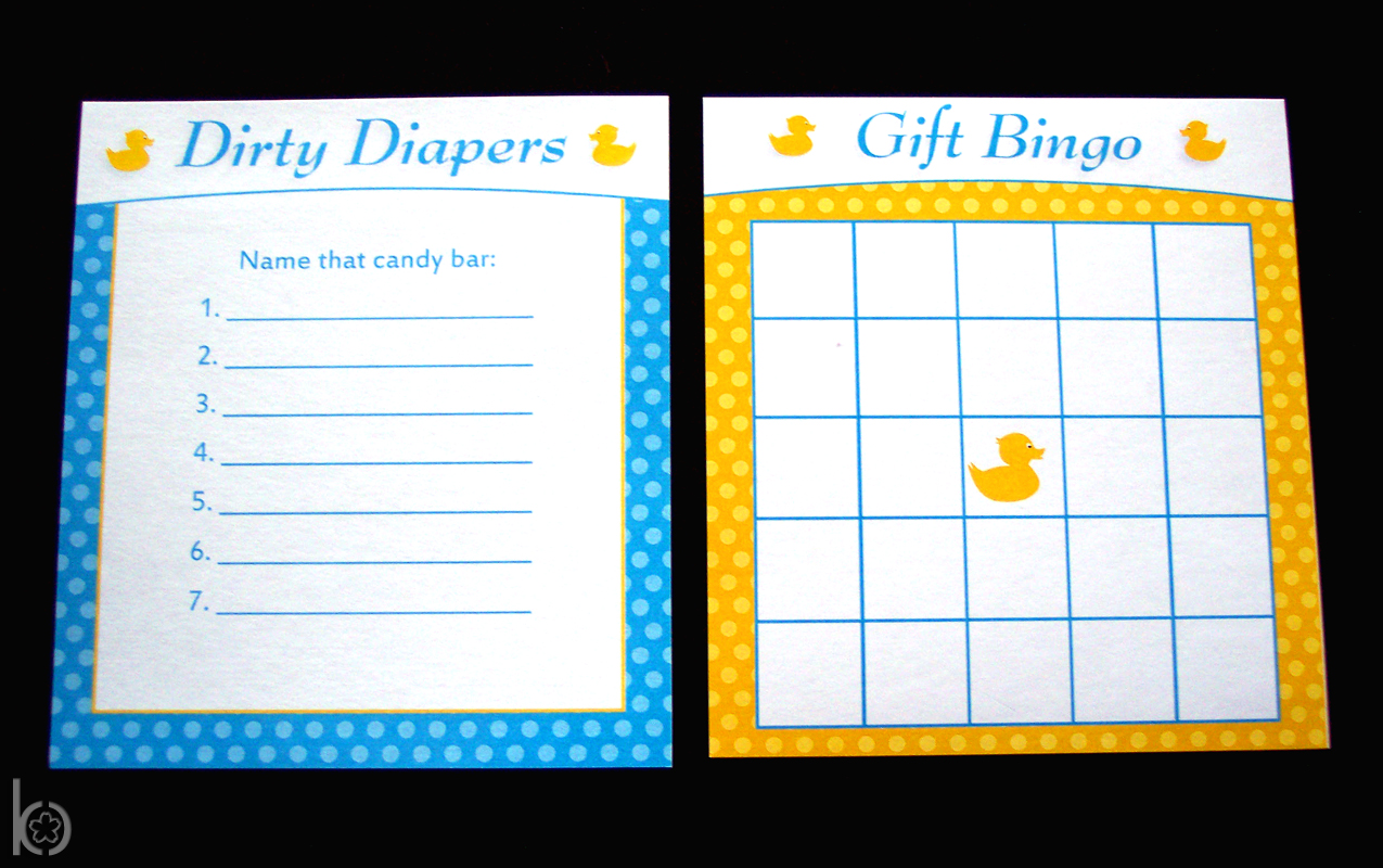 A Rubber Ducky Baby Shower Charming Printables