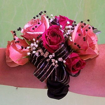 Pink Wrist Corsage Cherry Blossoms Florist Westminster CO