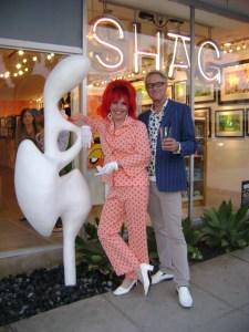 SHAG store sculpture installation with Josh Agle