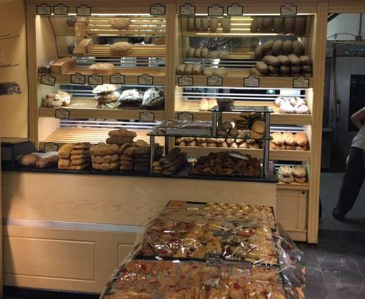 yep, bakeries. in. the. morning!