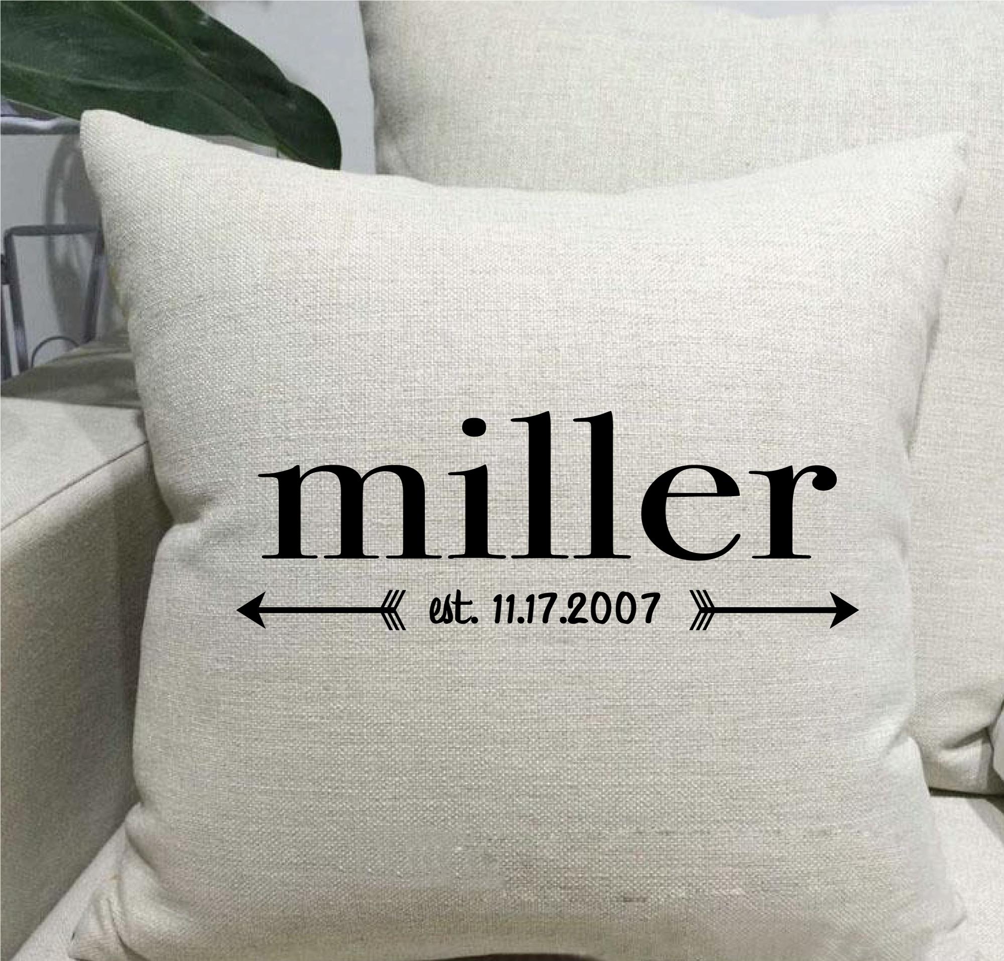 cherryhilldesigns com farmhouse linen throw pillow arrows