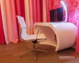 A bespoke desk made for a private Sandhurst residence.