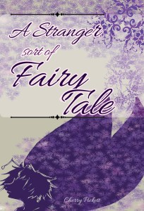 The cover for A Stranger Sort of Fairy Tale, which takes place in a desert landscape.