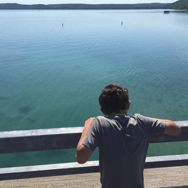 Hawthorn looking over Big Glen Lake.