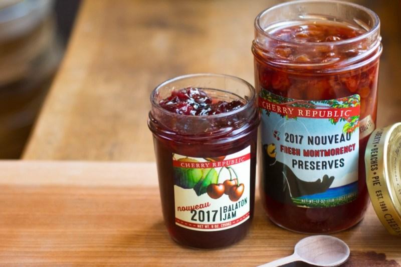 Our 2017 editions of Nouveau Balaton Jam and Montmorency Nouveau Preserves