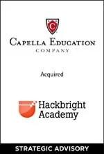 Capella Education Company Acquired Hackbright Academy