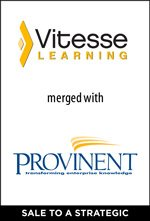 Vitesse Learning merged with Provinent Corporation