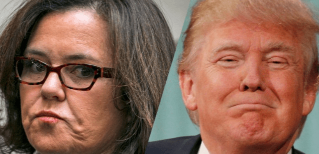 Rosie Resurfaces to Lead Up Anti-Trump Protests at White House