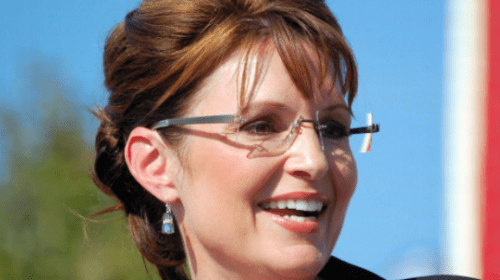 Sarah Palin strikes one for conservatives with suit on New York Times