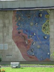 Piri Reis map mosaic