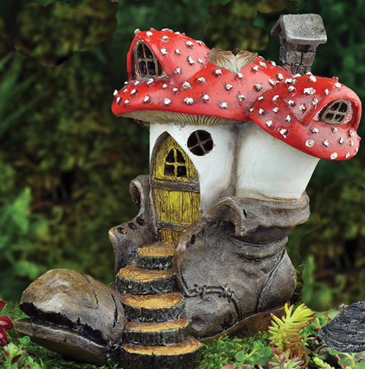 old clodhopper mushroom house