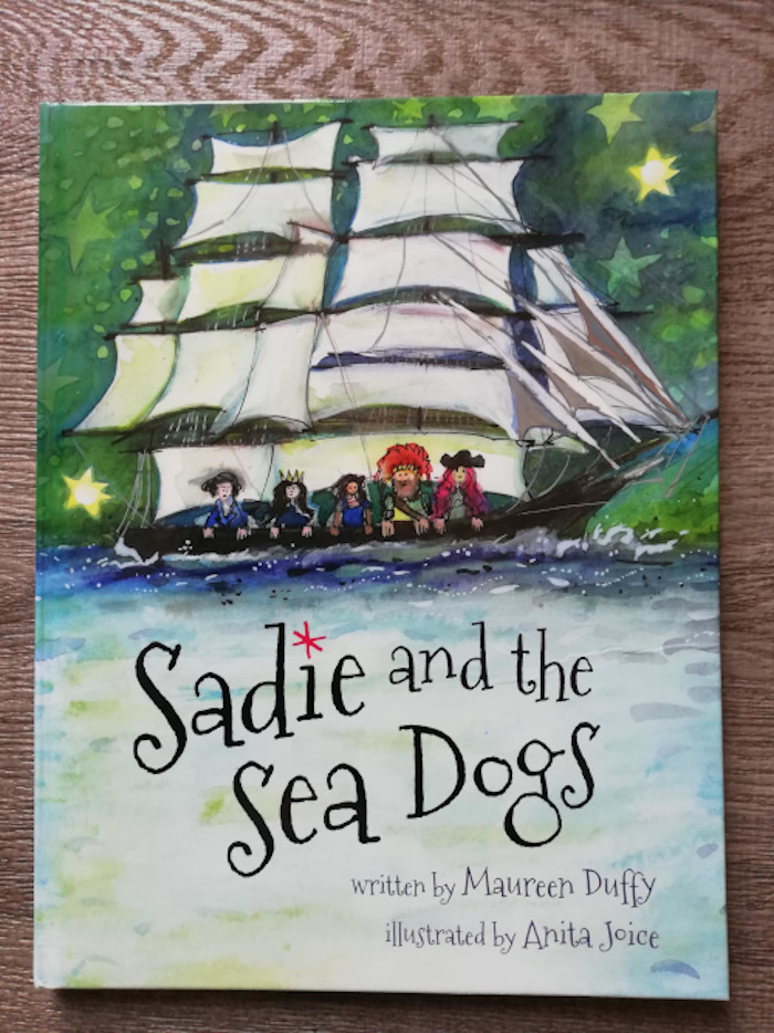 Hardback book Sadie and the Sea Dogs