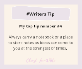 Top Tip for writers