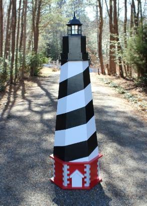 Plans For A Cape Hatteras Lawn Lighthouse DIY Wood Plans