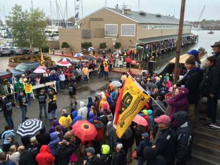 2015 Eastport vs. Annapolis Tug of War