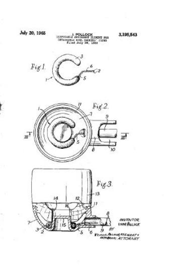 Falcon Dry Ring Patent Art
