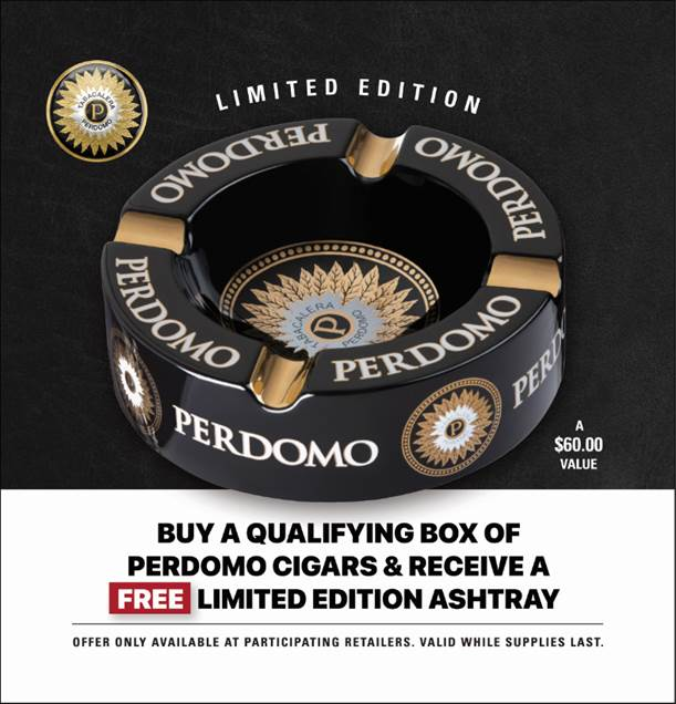 Perdomo Ashtray
