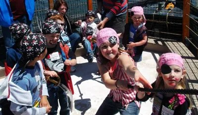 Pirate Adventures Birthday Party Packages