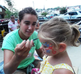 Family Fun - Facepainting at Pirate Adventures
