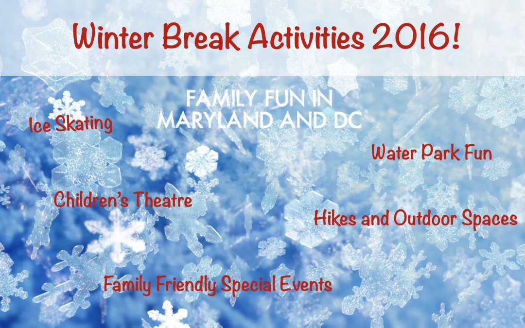 Staycation! Things to Do Over Winter Break in Maryland and Washington DC