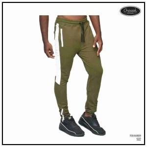 Army Green/White