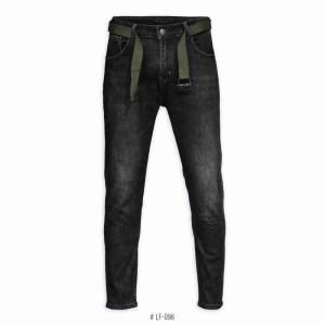 <b>SKINNY STRETCH JEANS</b> <br>LF-096 | Black