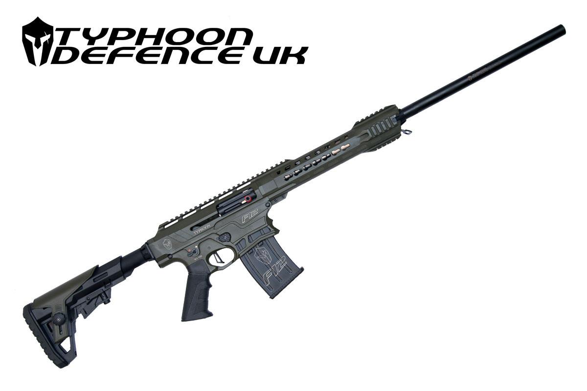 Buy Typhoon F12 12g Shotgun 24 At Cheshire Gun Room
