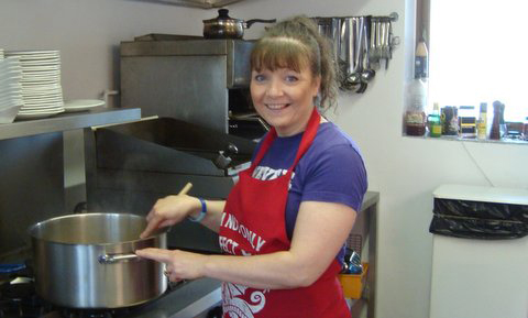 chef-elaine-responsible-for-the-delicious-meal-busy-in-the-kitchen