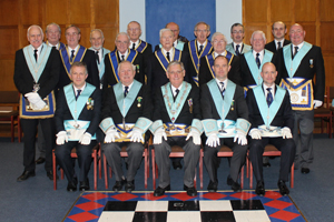 Members of Townfield De Tatton Lodge No. 2144