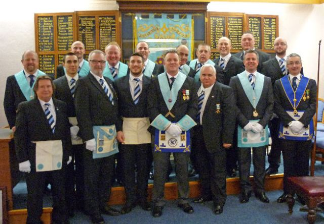 Chris Connor Initiation into John Brunner Lodge
