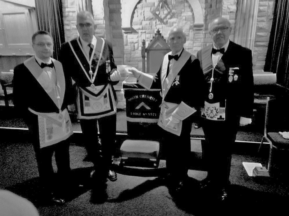 South Cheshire Lodge TLC Cheque