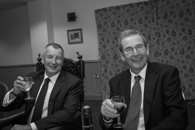 the-worshipful-master-kelvin-goodacre-and-past-master-piers-dutton-share-a-toast