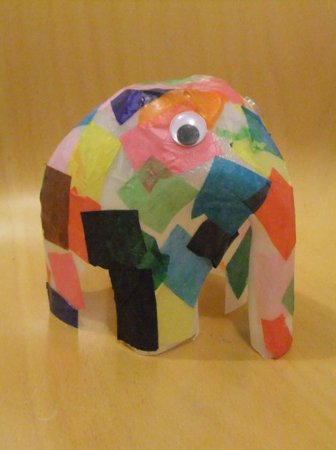 Make an Elmer The Elephant