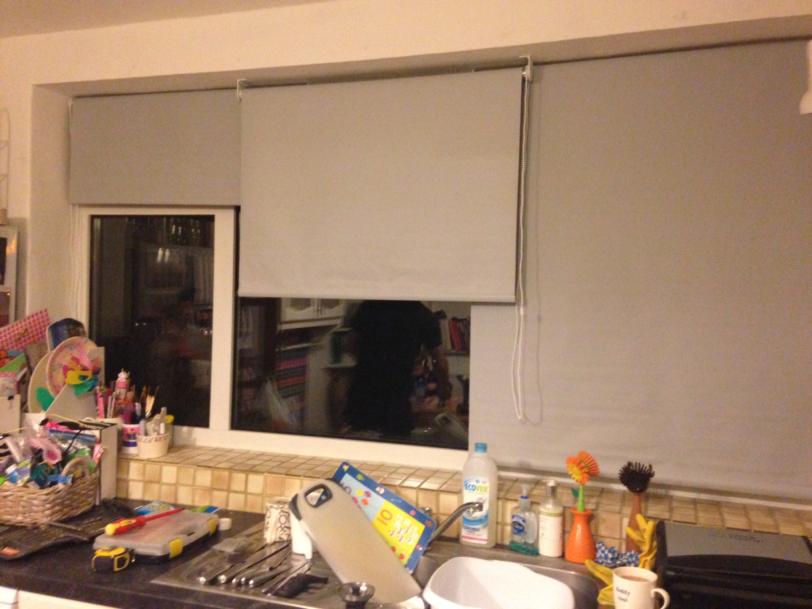 New Kitchen Window Blinds Notes To Self